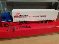 herpa  RENAULT MAGNUM-   riwatrans Int. Spedition & Logistik  Megaliner-151368