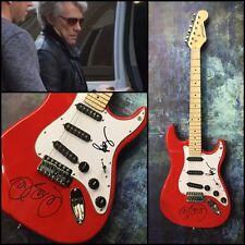 GFA Jon & Richie Sambora * BON JOVI * Signed Electric Guitar PROOF AD1 COA