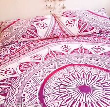 Indian Mandala Cotton Pillow Sham Ombre Mandala Cushion Cover Pillow Case Throw