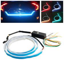 Flow Type LED Strip Car Trunk Side Turn Signal Lights Daytime Running/Tail Light