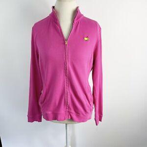 Magnolia Lane Masters Golf Zip Up Jacket Pink Augusta Womens Size M