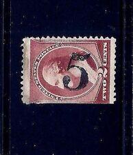 US 1800s Unknown PO Fancy Cancel = SON Number '5' = Cole #Nu-31.....MC3