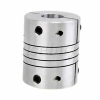 Motor Encoder Coupling 8mm x 10mm CNC Stepper Flexible D25L30 zero backlash