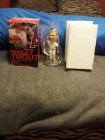 """Mike Trout Anaheim Angels 2014 Bobblehead """"HIT FOR CYCLE""""  New In Box SGA"""