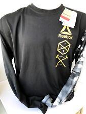 Reebok Compression Shirt langarm Gr. XXL in schwarz Neu