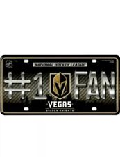 Las Vegas Golden Knights #1 FAN 9901 Metal Tag Aluminum License Plate Hockey