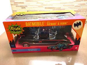 """Rare"" Showroom Sample"" New Funko 1966 Batmobile Batman&Robin Figures DC Comics"