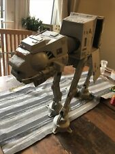 vintage star wars at at walker complete electrics work . Great Stickers Mint**