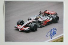 Pedro de la Rosa signed 20x30cm Foto Autogramm / Autograph McLaren Driver 7