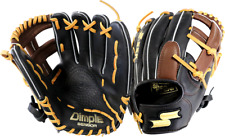 "SSK S1799P 11.5"" Highlight Pro Series Infield Baseball Glove Single Post Web New"
