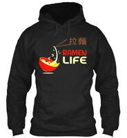 Cute Ramen Life Japanese Food Tee - Gildan Hoodie Sweatshirt