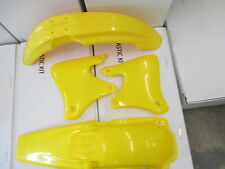 RACE TECH YELLOW PLASTIC KIT YAMAHA  YZ400F YZ426F YZF400 YZF426 YZF250 YZ250F