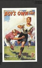 Nostalgia Postcard The Boy's Own paper 1945