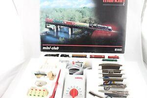 81461 Startpackung USA Güterzug Märklin mini-club Spur Z +Neuwertig+