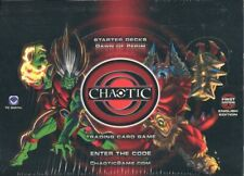 Chaotic Series 1 Dawn of Perim Starter Deck Case of 10 Boxes