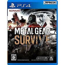 Konami Metal Gear Survive SONY PS4 PLAYSTATION 4 JAPANESE VERSION