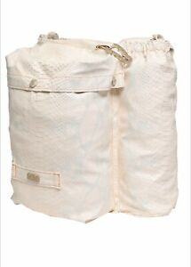 GCDS • MADE IN ITALY • BACKPACK • BAG • NWT • IVORY • SNAKE PRINT • LIMITED