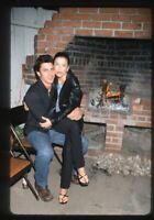 2001 DIEGO SERRANO & EVA LONGORIA Candid Original 35mm Slide Transparency ACTOR