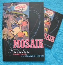 MOSAIK KATALOG Digedags 5. Auflage 2002 limitiert & nummeriert Hegen DDR RAR