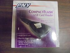 PNY Technologies Compact Flash USB Card Reader *Accepts Type I/II Cards