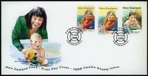 New Zealand B159-B161,FDC.Michel 1695-1697. Health 1998.Children Water safety.
