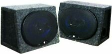 """New listing Audiopipe Csb69 Speaker Enclosure 6x9"""" Loaded Xxx *pair Packed*"""