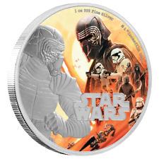 Niue 2 Dollar 2019 Star Wars™ Kylo Ren™ Der Aufstieg Skywalkers™ 1 Oz Silber PP