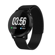 New Black Smart Watch for iPhone X XR XS MAX Samsung Galaxy S9 S10 GOOGLE PIXEL