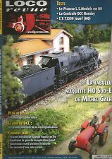 LOCO REVUE N°731 PLAN DE RESEAU : GARE TGV/TER /LIGNE NORMANDE CHEZ LITTORAIL 76