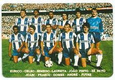 Carte Football Club Porto Futebol soccer sport trading card