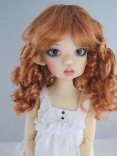 Monique SUMMER Wig Reddish Blonde color Size 8-9 BJD shown on Mei Mei Kaye Wiggs