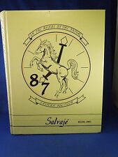 Vintage 1987 Eastern Voc-Tech High School Salvaje Year Book-Located in Baltimore