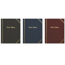 "🎅 TALLON 6"" X 4"" PLAIN PHOTO ALBUM WITH 100 POCKETS - 7530 🎁"