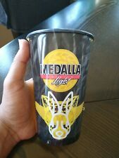 Puerto Rico Cerveza Medalla Light Beer Bad Bunny Yellow Halloween Plastic Cup!