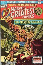Marvel's Greatest Comics #61 (Jan 1976, Marvel) Vg/Fine