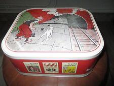Hergé-Tintin-boite de collection petit 20eme-Tintin&Milou,l île noire