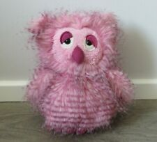JELLYCAT J2492 JELLY CAT LONDON OLGA FLUFFY PINK OWL SOFT TOY RETIRED EXCELLENT