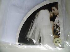 Hochzeitschleier mit Kamm ca. 78 cm, weiß Hochzeit