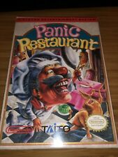 Panic Restaurant (Nintendo Entertainment System, 1992) Box And Manual Only