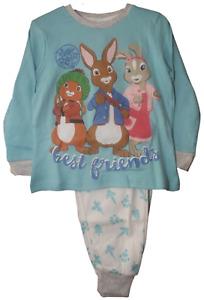 Peter Rabbit Best Friends Unisex Pyjamas. Age 3-4 Years and 5-6 Years