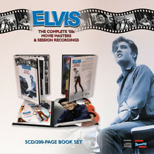 Elvis Complete 50s Movie Masters & Session Recordings BOOK + 5 CD Set New Sealed
