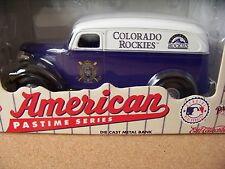 1996 Colorado Rockies Chevrolet Panel Truck bank #3 in Series