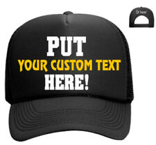Create your own Hat Snapback Trucker Custom Cap Personalized Mesh Foam Baseball