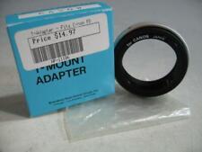 Kalt T-Mount Adapter Fits Canon FD To Pentax Screw Mount Camera Body In Box #35