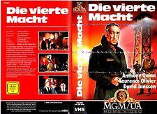 VHS -- Die vierte MACHT ( In den Schuhen des Fischers ) - (1968) - Anthony Quinn
