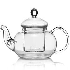 Teekanne Dimono® aus Borosilikat-Glas mit Teesieb Teefilter Glaskanne Tee-Kanne