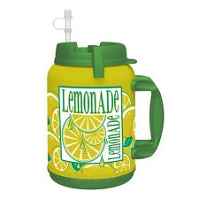 1-64 oz LEMONADE Insulated Mug  Whirley Drink Works FREE SHIPPING!