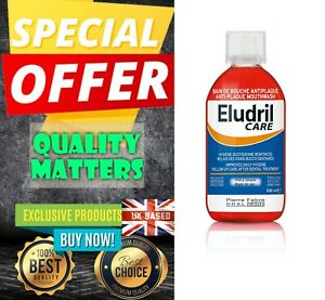 Eludril Care mouthwash adjunct to periodontal care and implant - 500 ml 0,5 l