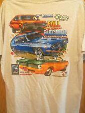 Arkansas 09 little rock street machine nationals graphic XL t shirt gray
