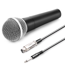 Unidirectional Mic Vocal Coil Cardioid Dynamic Microphone W/ Hard Case